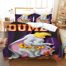 Load image into Gallery viewer, Dumbo #3 Duvet Cover Quilt Cover Pillowcase Bedding Set Bed Linen Home Bedroom Decor