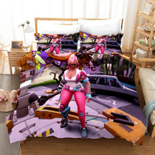 Load image into Gallery viewer, Fortnite Chapter2 Season 3 #7 Duvet Cover Quilt Cover Pillowcase Bedding Set Bed Linen Home Bedroom Decor