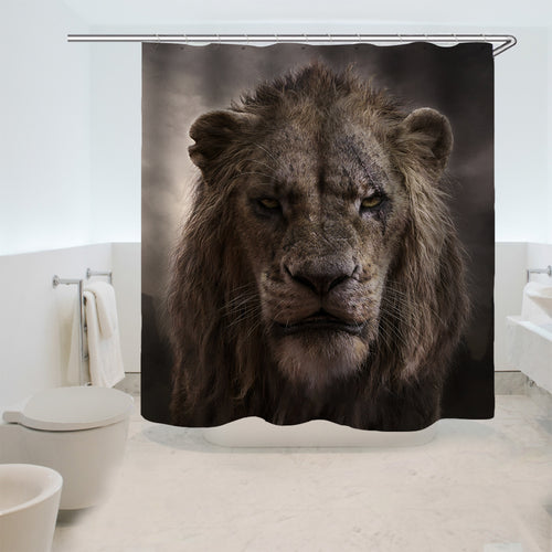 The Lion King Simba #13 Shower Curtain Waterproof Bath Curtains Bathroom Decor With Hooks