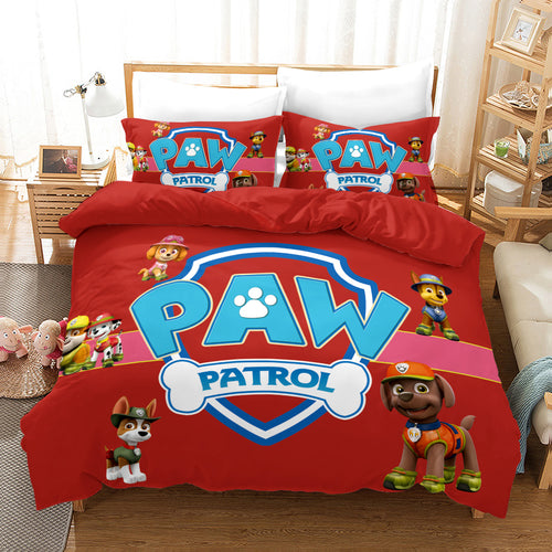 PAW Patrol Marshall #20 Duvet Cover Quilt Cover Pillowcase Bedding Set Bed Linen Home Decor