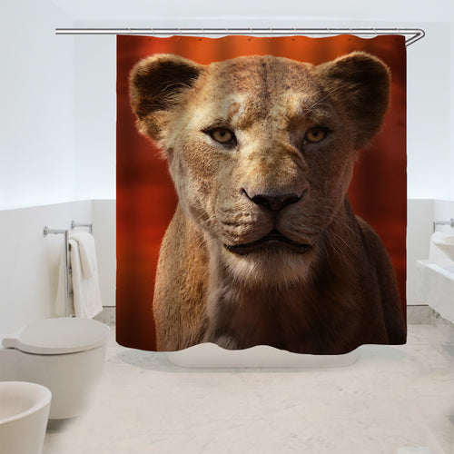 The Lion King Simba #15 Shower Curtain Waterproof Bath Curtains Bathroom Decor With Hooks