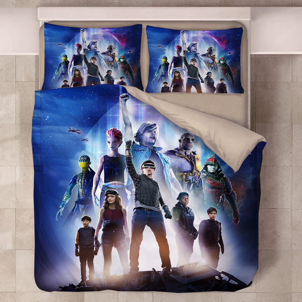 Ready Player One #3 Duvet Cover Quilt Cover Pillowcase Bedding Set Bed Linen Home Bedroom Decor
