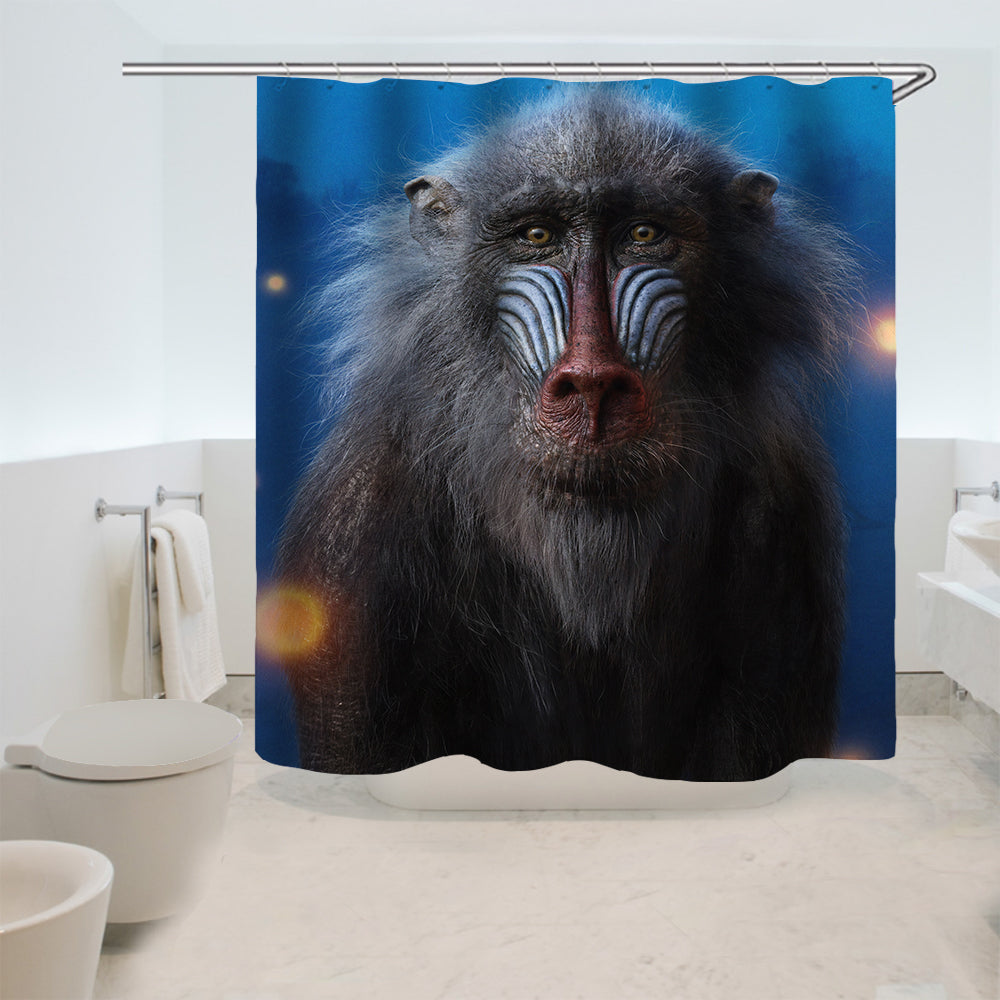 The Lion King Simba #11 Shower Curtain Waterproof Bath Curtains Bathroom Decor With Hooks
