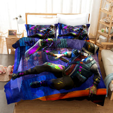 Load image into Gallery viewer, Fortnite Chapter2 Season 3 #35 Duvet Cover Quilt Cover Pillowcase Bedding Set Bed Linen Home Bedroom Decor