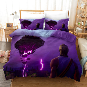 Fortnite Chapter2 Season 3 #37 Duvet Cover Quilt Cover Pillowcase Bedding Set Bed Linen Home Bedroom Decor
