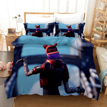 Load image into Gallery viewer, Fortnite Chapter2 Season 3 #38 Duvet Cover Quilt Cover Pillowcase Bedding Set Bed Linen Home Bedroom Decor