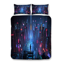 Load image into Gallery viewer, Cyberpunk 2077 #75 Duvet Cover Quilt Cover Pillowcase Bedding Set Bed Linen Home Bedroom Decor