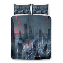 Load image into Gallery viewer, Cyberpunk 2077 #78 Duvet Cover Quilt Cover Pillowcase Bedding Set Bed Linen Home Bedroom Decor