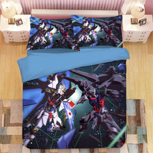 Load image into Gallery viewer, GUNDAM #5 Duvet Cover Quilt Cover Pillowcase Bedding Set Bed Linen Home Bedroom Decor