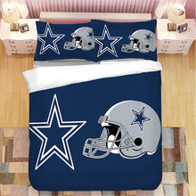 Load image into Gallery viewer, Dallas Cowboys NFL #2 Duvet Cover Quilt Cover Pillowcase Bedding Set Bed Linen Home Decor