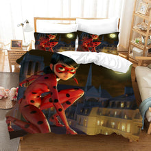 Load image into Gallery viewer, Miraculous Ladybug Cat Noir #13 Duvet Cover Quilt Cover Pillowcase Bedding Set Bed Linen Home Bedroom Decor