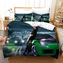 Load image into Gallery viewer, Need for Speed #4 Duvet Cover Quilt Cover Pillowcase Bedding Set Bed Linen Home Bedroom Decor