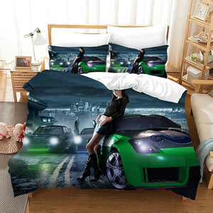 Need for Speed #4 Duvet Cover Quilt Cover Pillowcase Bedding Set Bed Linen Home Bedroom Decor
