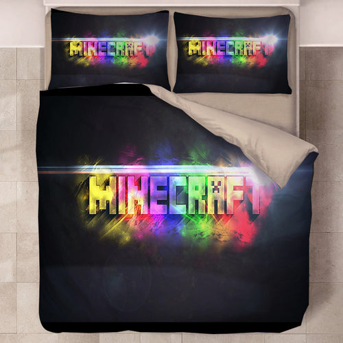 Minecraft #35 Duvet Cover Quilt Cover Pillowcase Bedding Set Bed Linen Home Decor