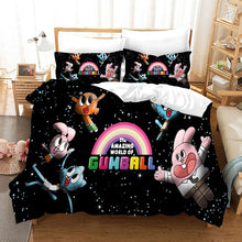 Load image into Gallery viewer, The Amazing World of Gumball #5 Duvet Cover Quilt Cover Pillowcase Bedding Set Bed Linen Home Bedroom Decor