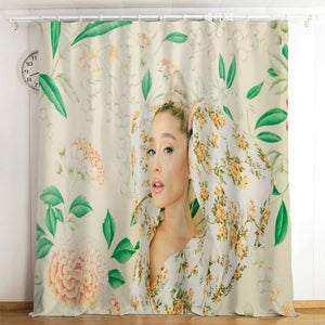 Ariana Grande #5 Blackout Curtains For Window Treatment Set For Living Room Bedroom