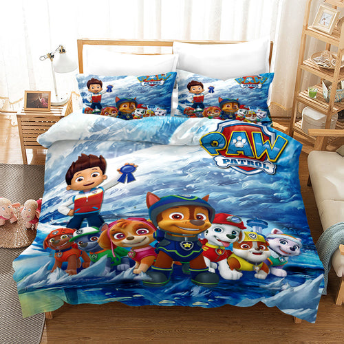 PAW Patrol Marshall #22 Duvet Cover Quilt Cover Pillowcase Bedding Set Bed Linen Home Decor