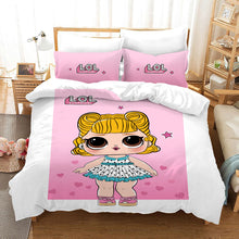Load image into Gallery viewer, L.O.L. Surprise! #37 Duvet Cover Quilt Cover Pillowcase Bedding Set Bed Linen Home Bedroom Decor