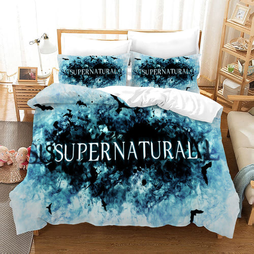 Supernatural Dean Sam Winchester #16 Duvet Cover Quilt Cover Pillowcase Bedding Set Bed Linen Home Decor