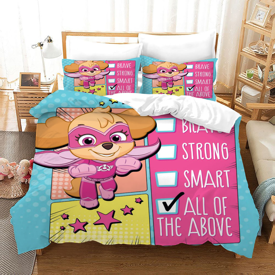 PAW Patrol Marshall #37 Duvet Cover Quilt Cover Pillowcase Bedding Set Bed Linen Home Decor
