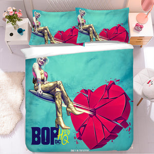 Harley Quinn Birds of Prey #47 Duvet Cover Quilt Cover Pillowcase Bedding Set Bed Linen Home Bedroom Decor