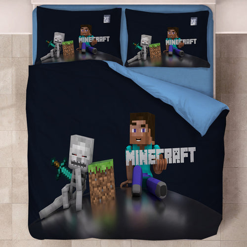 Minecraft #37 Duvet Cover Quilt Cover Pillowcase Bedding Set Bed Linen Home Decor
