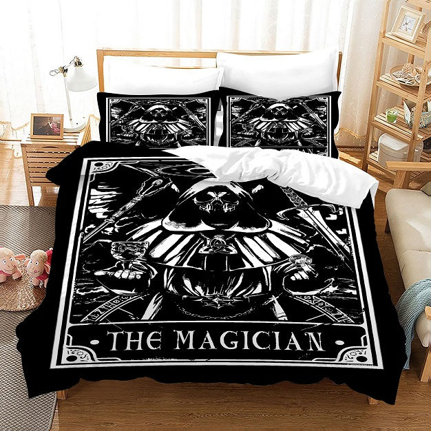 TAROT The Magician #8 Duvet Cover Quilt Cover Pillowcase Bedding Set Bed Linen Home Bedroom Decor