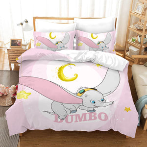 Dumbo #8 Duvet Cover Quilt Cover Pillowcase Bedding Set Bed Linen Home Bedroom Decor
