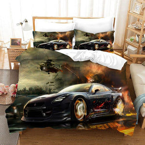 Need for Speed #9 Duvet Cover Quilt Cover Pillowcase Bedding Set Bed Linen Home Bedroom Decor
