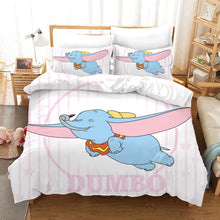 Load image into Gallery viewer, Dumbo #9 Duvet Cover Quilt Cover Pillowcase Bedding Set Bed Linen Home Bedroom Decor