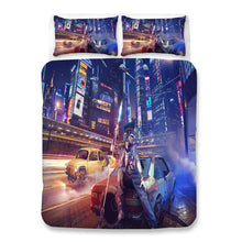 Load image into Gallery viewer, Cyberpunk 2077 #39 Duvet Cover Quilt Cover Pillowcase Bedding Set Bed Linen Home Bedroom Decor