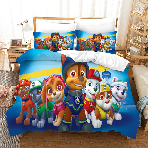 PAW Patrol Marshall #39 Duvet Cover Quilt Cover Pillowcase Bedding Set Bed Linen Home Decor