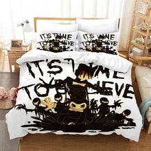 Load image into Gallery viewer, Bendy And The Ink Machine #49 Duvet Cover Quilt Cover Pillowcase Bedding Set Bed Linen Home Bedroom Decor