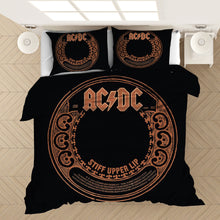 Load image into Gallery viewer, AC/DC Music Band #7 Duvet Cover Quilt Cover Pillowcase Bedding Set Bed Linen Home Bedroom Decor