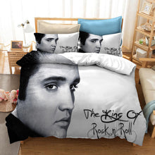 Load image into Gallery viewer, Elvise Presley The King #7 Duvet Cover Quilt Cover Pillowcase Bedding Set Bed Linen Home Bedroom Decor