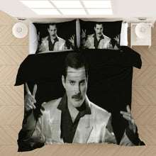 Load image into Gallery viewer, Freddie Mercury The Queen Band #2 Duvet Cover Quilt Cover Pillowcase Bedding Set Bed Linen Home Bedroom Decor