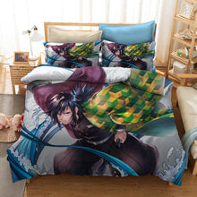 Load image into Gallery viewer, Demon Slayer Kimetsu no Yaiba Kochou Shinobu #24 Duvet Cover Quilt Cover Pillowcase Bedding Set Bed Linen