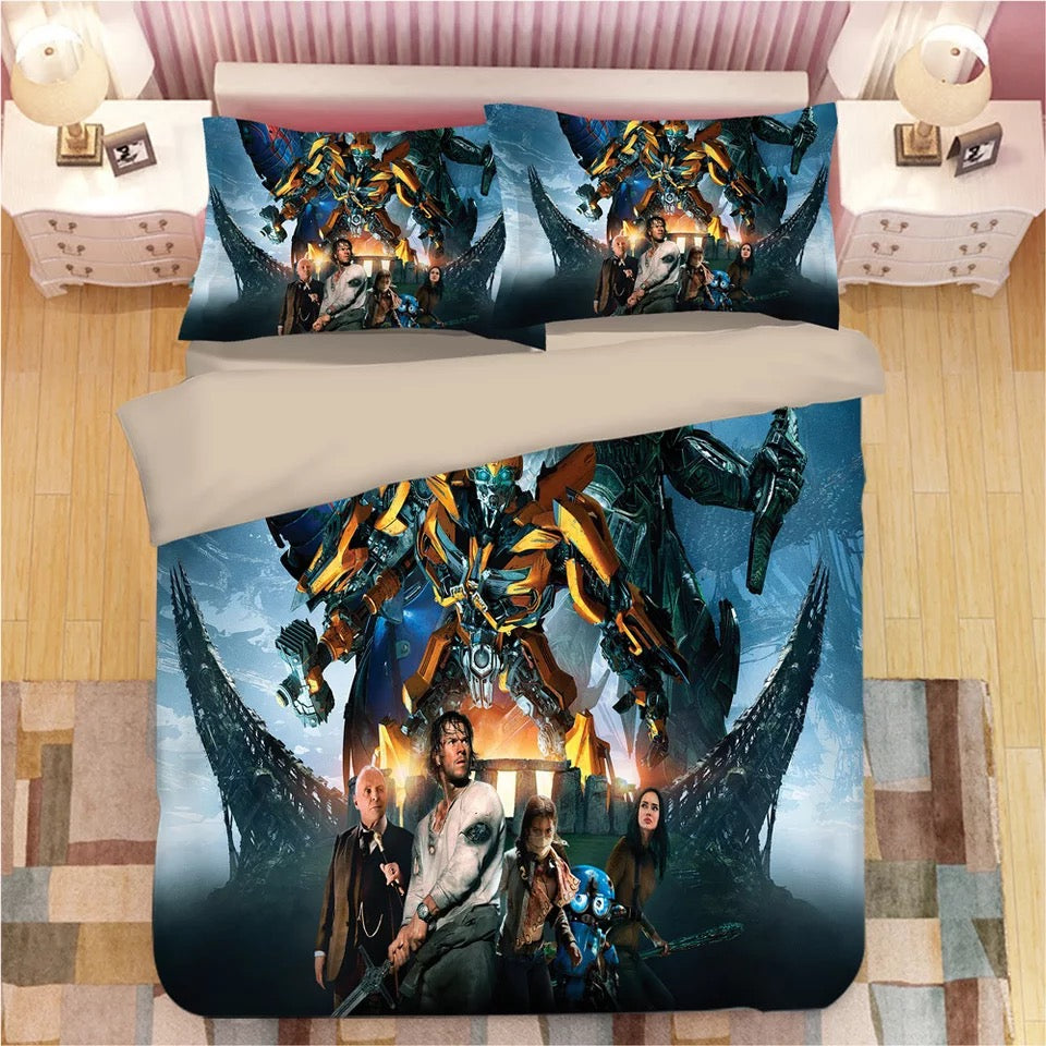 Transformers #1 Duvet Cover Quilt Cover Pillowcase Bedding Set Bed Linen Home Decor