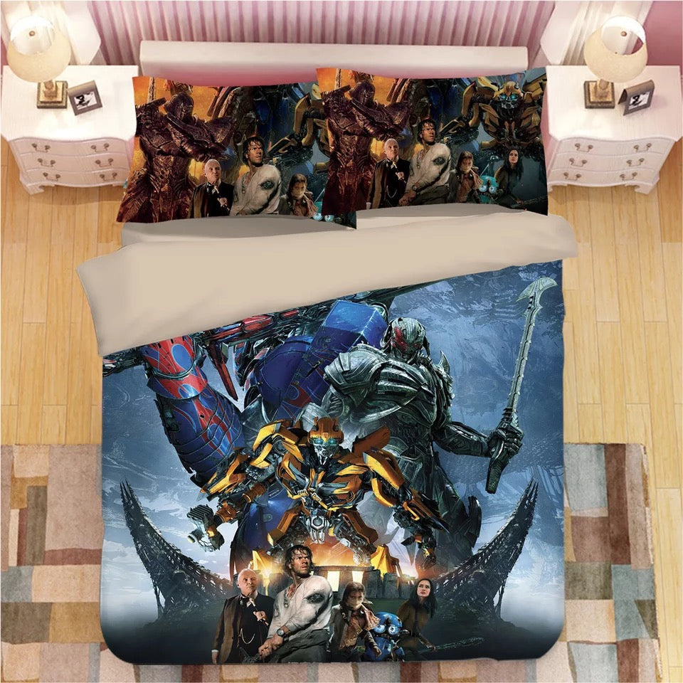 Transformers Bumblebee #3 Duvet Cover Quilt Cover Pillowcase Bedding Set Bed Linen Home Decor