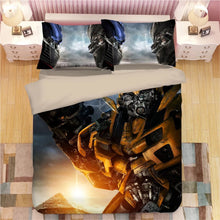 Load image into Gallery viewer, Transformers Bumblebee #6 Duvet Cover Quilt Cover Pillowcase Bedding Set Bed Linen Home Decor