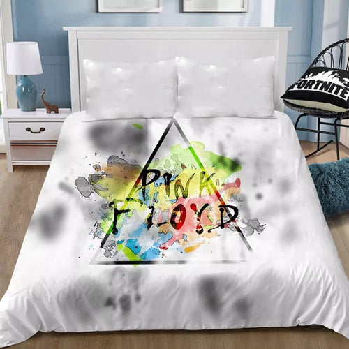 Pink Floyd #5 Bedding Sheet Flat Sheets Bed Sheet Bedding Linen Double Queen Size Bedsheet