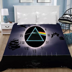 Pink Floyd #6 Bedding Sheet Flat Sheets Bed Sheet Bedding Linen Double Queen Size Bedsheet