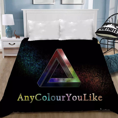 Pink Floyd #10 Bedding Sheet Flat Sheets Bed Sheet Bedding Linen Double Queen Size Bedsheet