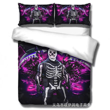 Load image into Gallery viewer, Game Fortnite  Skull Trooper #11 Duvet Cover Quilt Cover Pillowcase Bedding Set Bed Linen