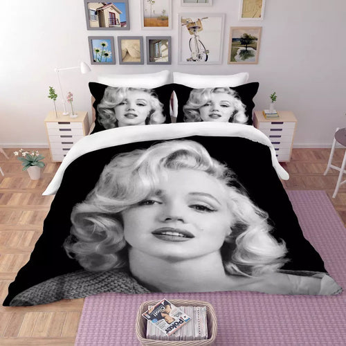 Marilyn Monroe #11 Duvet Cover Quilt Cover Pillowcase Bedding Set Bed Linen Home Decor