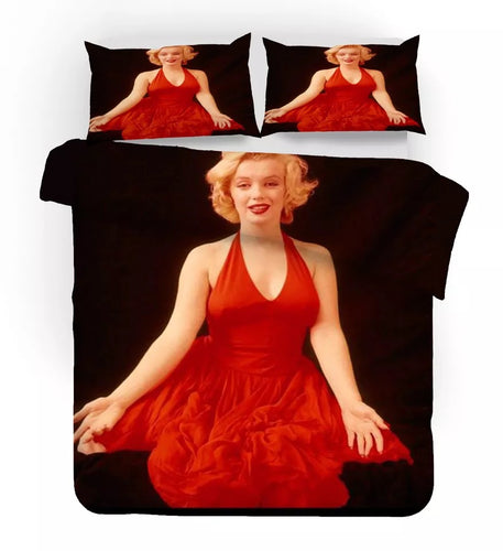 Marilyn Monroe #12 Duvet Cover Quilt Cover Pillowcase Bedding Set Bed Linen Home Decor