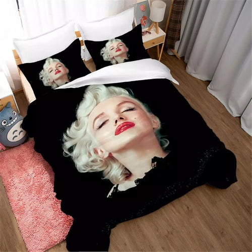 Marilyn Monroe #13 Duvet Cover Quilt Cover Pillowcase Bedding Set Bed Linen Home Decor