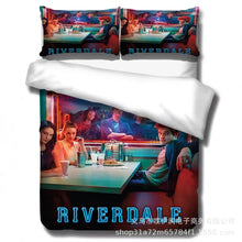 Load image into Gallery viewer, Riverdale South Side Serpents #2 Duvet Cover Quilt Cover Pillowcase Bedding Set Bed Linen