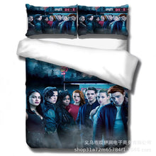 Load image into Gallery viewer, Riverdale South Side Serpents #3 Duvet Cover Quilt Cover Pillowcase Bedding Set Bed Linen