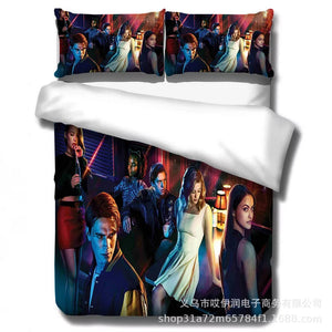 Riverdale South Side Serpents #5 Duvet Cover Quilt Cover Pillowcase Bedding Set Bed Linen